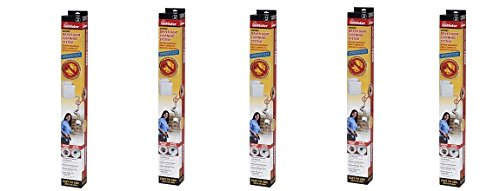 Gardus RLE202 LintEater 10-Piece Rotary Dryer Vent Cleaning System (5-Pack)