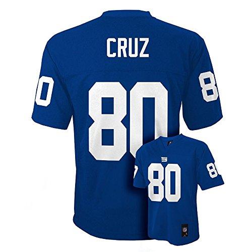 Victor Cruz New York Giants Royal Blue Youth Jersey X-Large 18-20