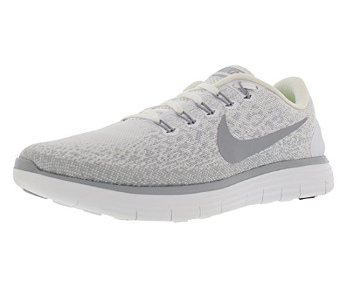 Nike Wmns Rn Distanza Libera - 827116010 Bianco / Grigio Lupo - Platino Puro