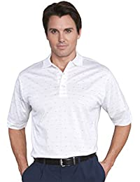Mens Pima Cotton Jacquard Shirt #1273