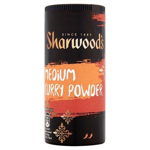 Medium Curry Powder - Sharwoods Medium Curry Powder - 3 x 102gm