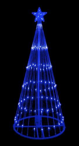 Cascading Icicle Christmas Lights