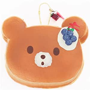 Squishy Toys Big W : Amazon.com: Big blueberry jumbo bear pancake squishy by Puni Maru: Toys & Games