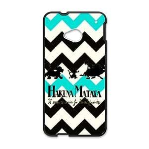 HTC One M7 Phone Cases Black Hakuna Matata LSFE5465572
