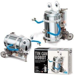Toysmith Tin (4M Tin Can Robot Kit each)