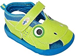 Zooligan Tad The Frog Infant\'s Shoes Size 10