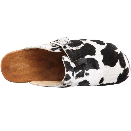 eastbay sale online outlet get to buy Woody Women 6526_Keilabsatz Mules Mehrfarbig (Fell Schwarz-weiss) under 50 dollars choice online free shipping cheap quality alJKEJhyq