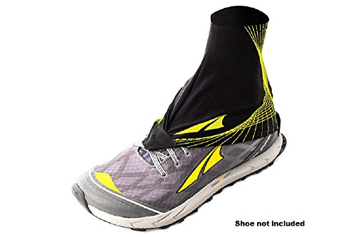 Altra Trail Gaiters, Black/Yellow, Large/X-Large