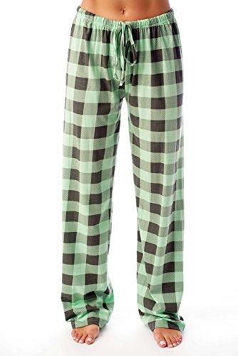 Just Love Women Buffalo Plaid Pajama Pants Sleepwear - Pj Boyfriend Pant