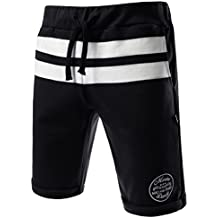 TheLees Leisure Fashion Slim Fit Active Jogger Jersey Roll Up Shorts