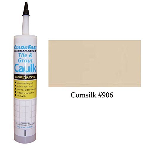 (TEC Color Matched Caulk by Colorfast (Sanded) (906 Cornsilk))