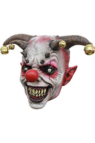 Mask Head Clown Jingle Jangle -