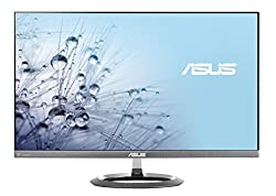 "Asus Designo Mx25aq 25"" Wqhd 2560x1440 Ips Dp Hdmi Eye Care Frameless Monitor"