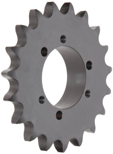 (Tsubaki 80SK17 Roller Chain Sprocket, Single Strand, QD Design, SK Bushing Required, 17 Teeth, #80 ANSI No., 1