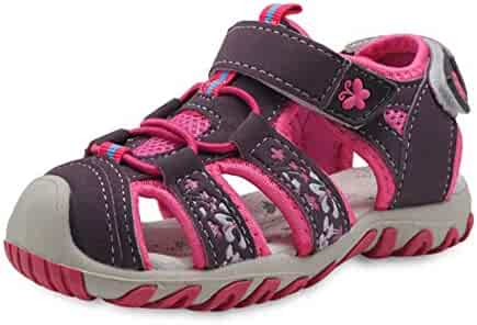 aabfe356fa47 Irrech Summer Girls Sandals Breathable Non-Slip Casual Sandals