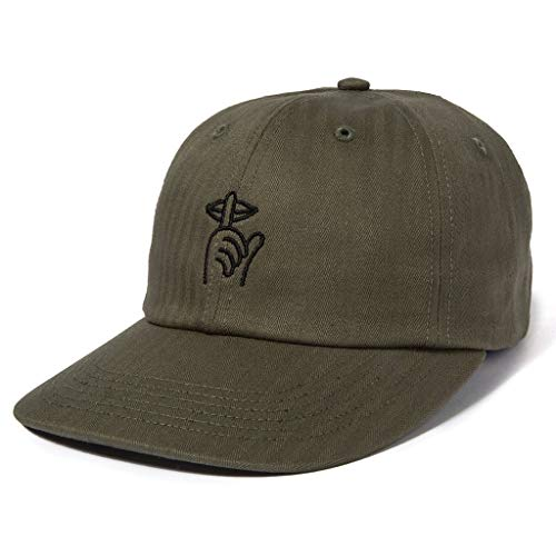 The Quiet Life Shhh Dad Hat - Forest - Quiet Hat Life