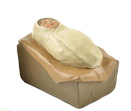 ENNAS Miniature Baby Jesus In Manger Religious Nativity Figurine Decoration (2.83