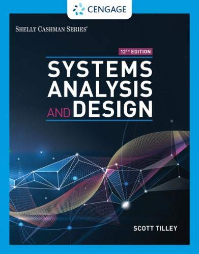 Systems Analysis and Design (MindTap Course List) (Best User Management System)