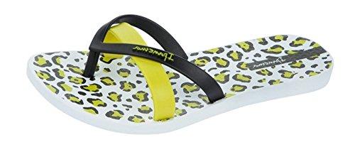 Ipanema Silk Print Frauen Flip-Flops / Sandalen Black