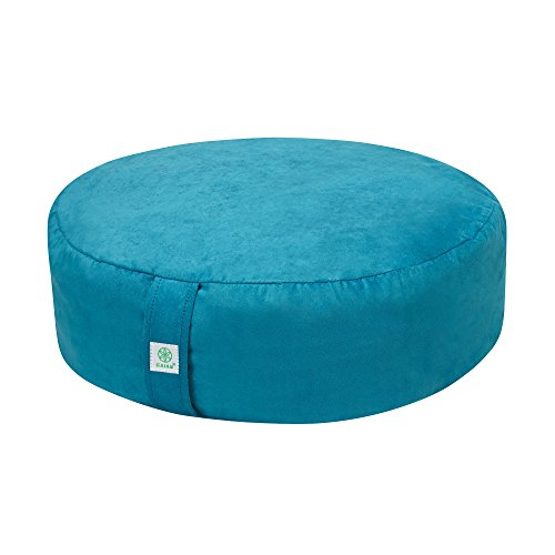 Gaiam Zafu Meditation Cushion Teal