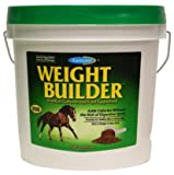 Farnam 8 Lbs Equine Weight Builder Supplement - HIgh Calorie Rich in Omega 3
