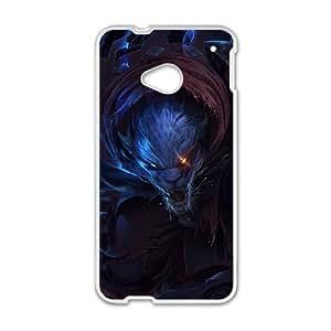 HTC One M7 Cell Phone Case White League of Legends Night Hunter Rengar KWI8913324KSL