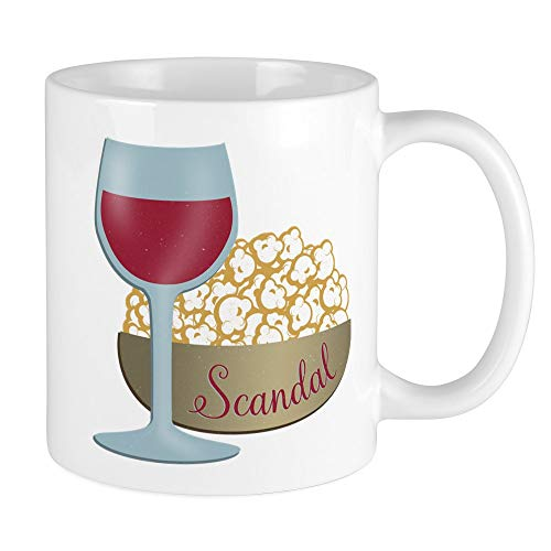 Personalized Microwave Popcorn - CafePress Scandal Red Wine Popcorn Mugs Unique Coffee Mug, Coffee Cup