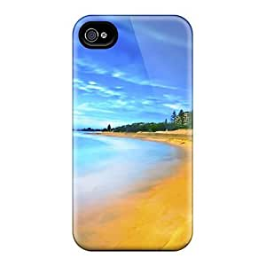Cynthaskey NKxZVxX4653ANxSb Protective Case For Iphone 4/4s(summer Beach)