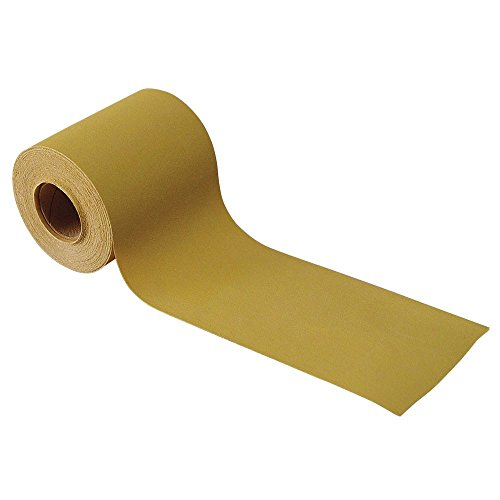 TP Tools Adhesive-Back Abrasive Sandpaper Roll 8038-624, 2-3/4'' Wide x 10 Yards Long (400 Grit) by TP Tools