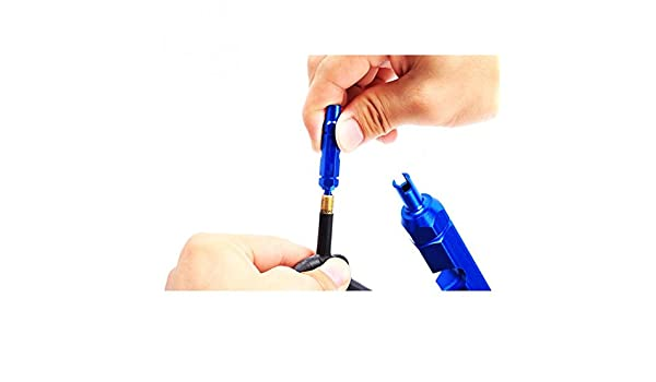Road Bike Bicycle Valve Core Removal Tool Wrench Screwdriver for Schrader Presta