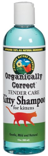 Organically Correct Kitten Shampoo, 17-Ounce, My Pet Supplies