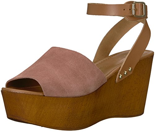 Seychelles Women's Forward Wedge Sandal, Rose, 6.5 M US (Seychelles Wedge Womens Shoes)