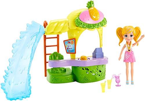 Polly Pocket - Polly Pocket! Quiosque Parque dos Abacaxis, Mattel, GFR00, Multicor