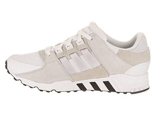 adidas Mens EQT Support RF WHT/GREONE/BLK LACE UP 9.5