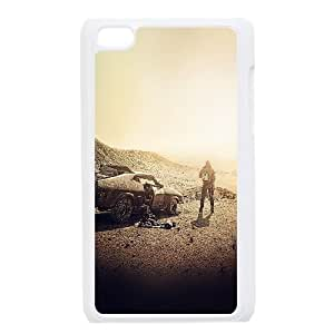 iPod Touch 4 Case White am14 madmax dessert film art yellow furyroad SUX_873815