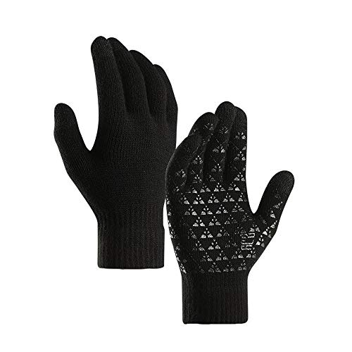 Neigei Windproof Reflect Winter Cycling Gloves Warm Ski Gloves Antislip Bike Bicycle Biking Motorcycle Driving Hiking Climbing Running Gloves for Men Women