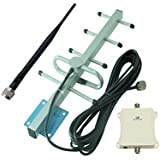 Signalbox 70dB High Gain 700mhz Mobile Cell Phone Signal Booster Verizon 4g LTE Mobile Signal Repeater High Gain Ampilifier 10m Black Cable (VERISON 700MHz)