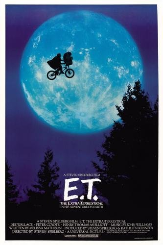 Et The Extra Terrestrial Movie Poster 11x17 Master Print