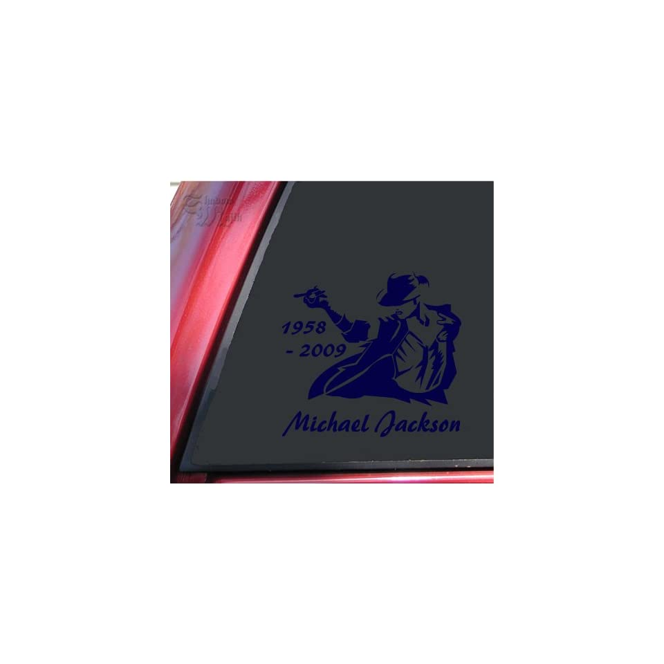 Michael Jackson 1958   2009 Vinyl Decal Sticker   Dark
