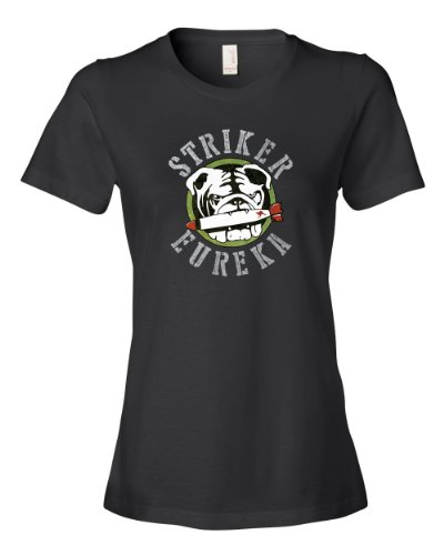 striker-eureka-tee-shirt-womens-m-black-u