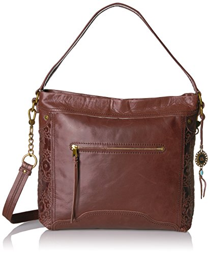 The Sak Tahoe Hobo, Mahogany Embossed by The Sak