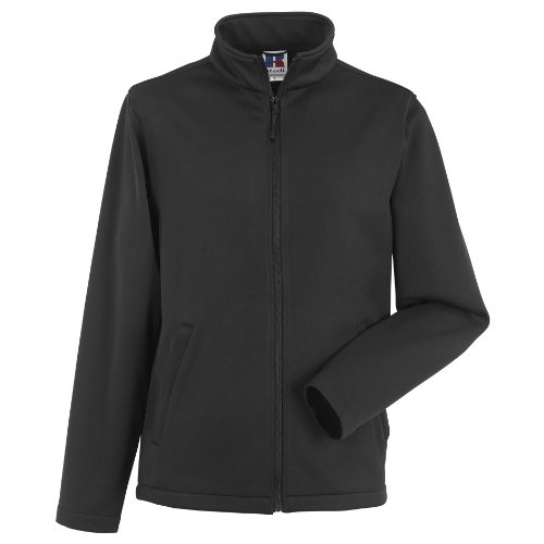 Russell Mens Smart Softshell Jacket (M) (Mens Soft Shell Traditional Jacket)
