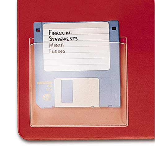 TOPS Cardinal HOLDit! Data Disk Pockets, 3.5 Inches, 10-Pack, (21700) ()