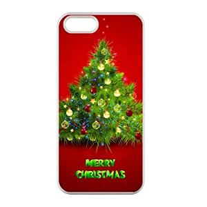 Welcome!Iphone 5/5S Cases-Brand New Design Christmas Tree Printed High Quality TPU For Iphone 5/5S 4 Inch -04