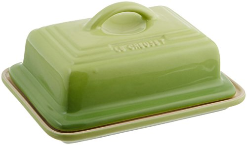 - Le Creuset Heritage Stoneware Butter Dish, Palm