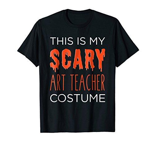My SCARY Art Teacher Costume Fun School Halloween -