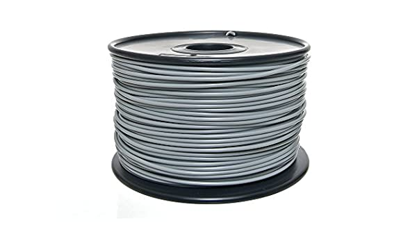 Fine and Quality Germany PLA Filamento 3,0 mm Gris: Amazon ...