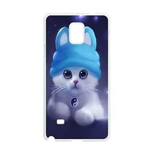 LSQDIY(R) cat Samsung Galaxy Note 4 DIY Case, Brand New Samsung Galaxy Note 4 Plastic Case cat
