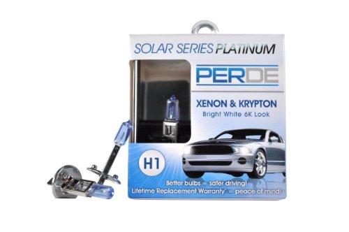 PERDE H1-55-BX2 Bulbs, 12 V, 55 W, P14.5s Base, T-2.5 shape ()