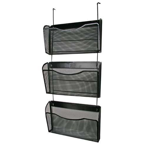 Rolodex Expressions Mesh 3-Pack Hanging Wall File - 33.5
